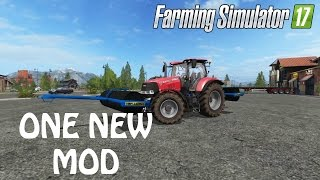 ONE NEW MOD In Farming Simulator 2017 A NEW ROLLER   PS4   Xbox One