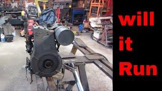 will it run? 1943 Briggs & Stratton model ZZ engine