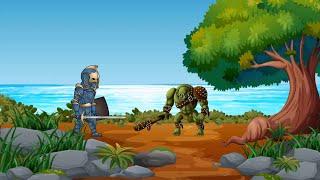 Трейлер мультфильма. Скоро для детей Отдавай сундук. Битва троллей и короля за сундук золота.