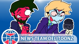 Delirious Animated! (NEWS TEAM DELITOONZ!) By RyanStorm! Watchdogs 2