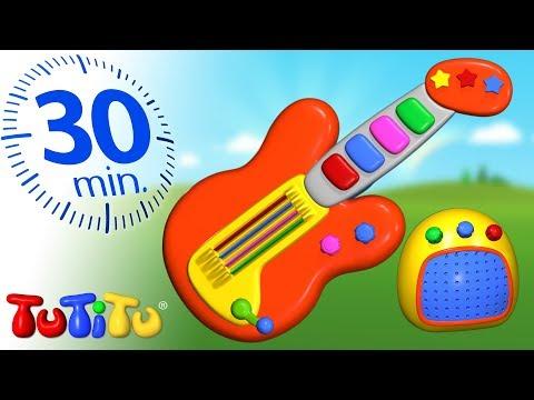 TuTiTu Deutsch | Beste Kleinkinder Spielzeug | Gitarre | 30 Minuten Spezial