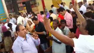Jesus Voice Testimony-Miraclous Healing Of A Man-Bro.Ani George Ministering