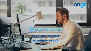 Start a Conference Call with Skype for Business