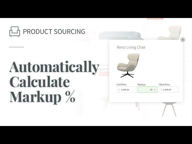 Automatically Calculate Markup %
