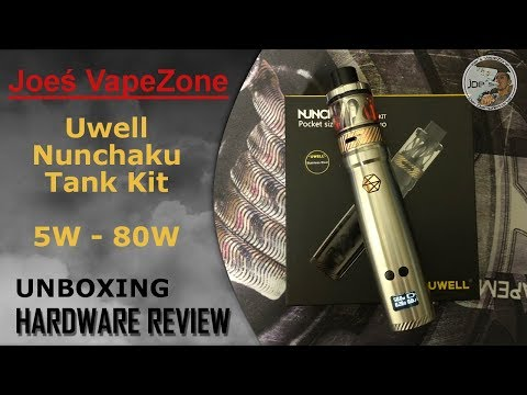 YouTube Video zu Uwell Nunchaku Kit 80 Watt 5 ml