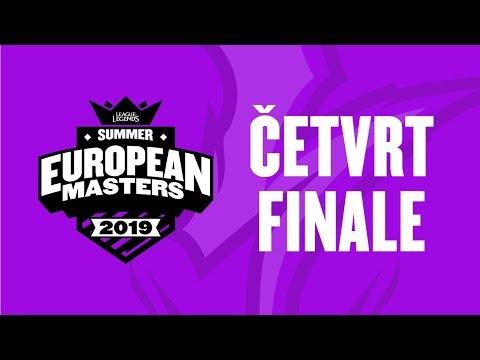 EU Masters - BIG vs LDLC | DV1 vs Fnatic Rising - Sezona 4 ČETVRTFINALE w/ Sa1na i Gliša