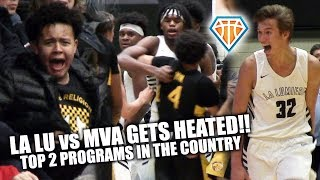 LALU vs MONTVERDE GETS HEATED!! Top 2 Programs' EPIC BATTLE at Cancer Research Classic