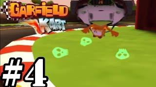 Garfield Kart   Ice Cream Cup 150cc & Credits   Gameplay Walkthrough Part 4 [ 3DS ]