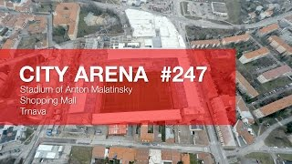 preview picture of video 'CITY ARENA (4K) - (247) Aircam Video #5 (15. Marec 2015) [DRONE]'