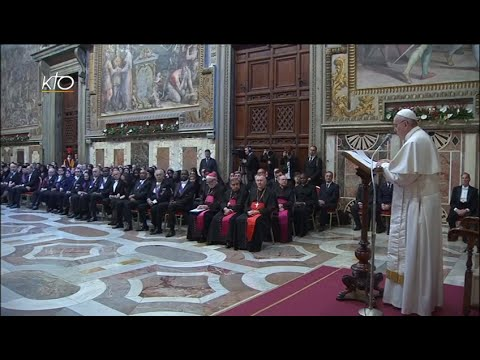 Les voeux du Pape François au Corps diplomatique