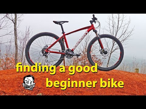 What's a good beginner bike? – Budget mountain bike