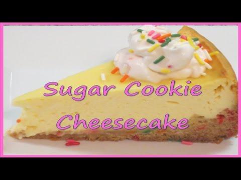 Sugar Cookie Cheesecake Recipe   Easy & Delicious!