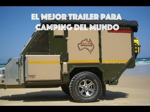 El mejor trailer para camping del mundo: UEV 440 Conqueror Australia