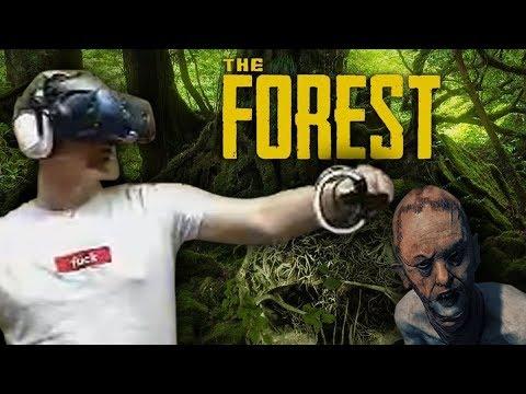 Přežiji na strašidelném ostrově? - The Forest VR