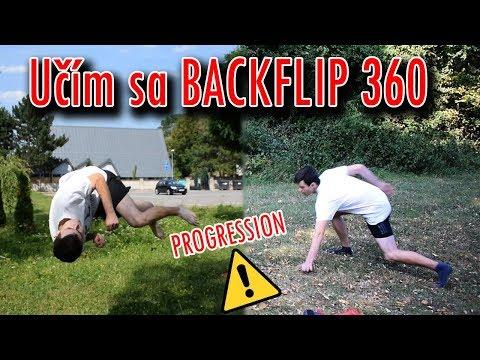 Učím sa BACKFLIP 360 | PROGRESSION | Flying Emotions