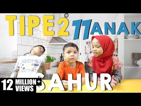 Video TIPE - TIPE SAHUR Gen Halilintar - Special Ramadhan - 11 Anak