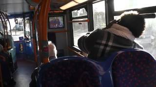 preview picture of video 'Stagecoach London On Route 179'