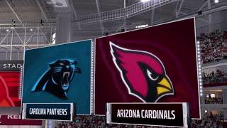 Madden 17: Carolina Panthers Vs Arizona Cardinals Amazing Game! (Full)