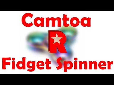 [ReviewRax Review] CAMTOA Colorful Fidget Spinner (Banggood.com)
