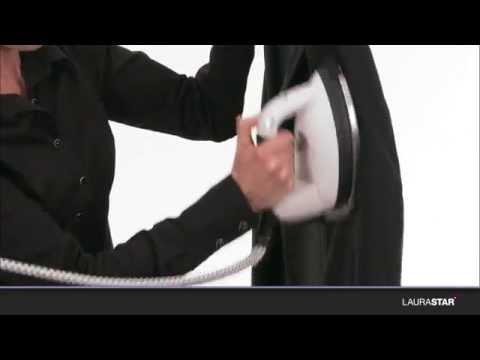 Laurastar - So funktioniert das vertikale Aufdämpfen mit Ihrem Bügeleisen