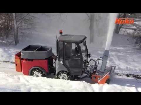 Citymaster 600 im Wintereinsatz