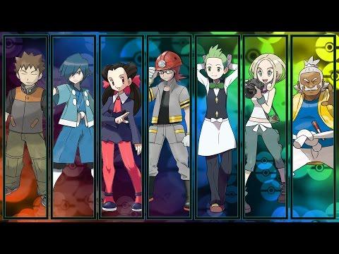 All Pokémon Gym Leader & Kahuna Themes [GEN 1-7]