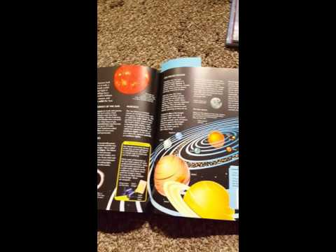 Book Review: For kids that love SPACE!!!