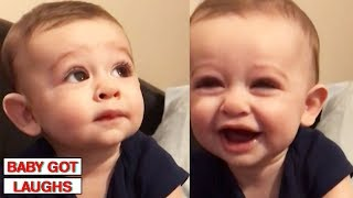 Funniest Babies of 2018 | Try Not To Laugh Challenge