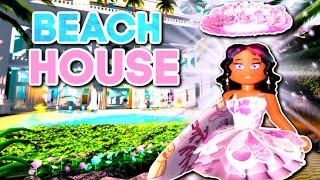 My New Beach House In Royale High Is Soooooo Pretty! (Roblox Royale High)