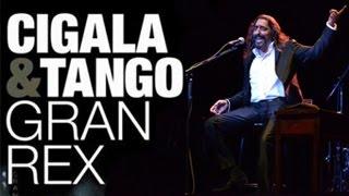 Diego El Cigala. Cigala & Tango. Concierto Teatro Gran Rex De Buenos Aires
