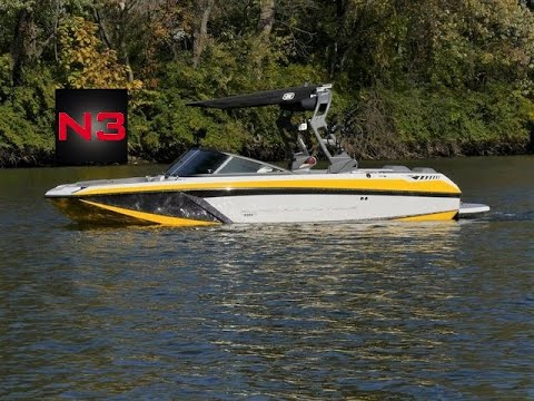 2019 Super Air Nautique GS20 - Canary Yellow/Gunmetal - On Water