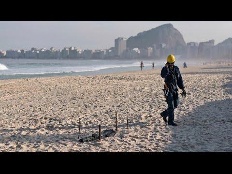 Mutilated Body Found on Rio Olympic Beach