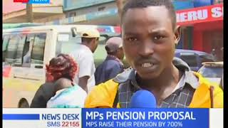 Here is a break down of the hefty pension plan raised by MP's
