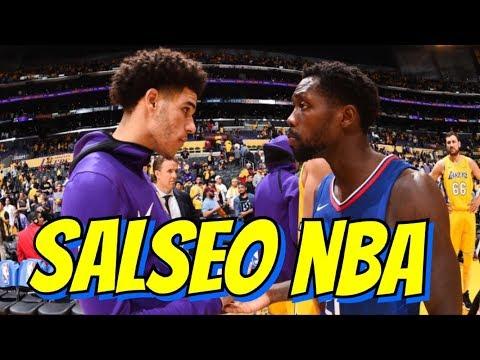 LONZO+LAVAR BALL VS PATRICK BEVERLY – SALSEO NBA
