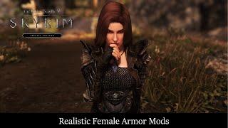 Skyrim SE Realistic Female Armors