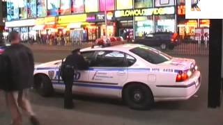 New York, Spring 2001, Times Square at Night, 2000s Archive Footage