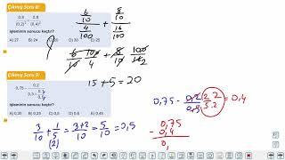 Eğitim Vadisi TYT Matematik 10.Föy Rasyonel Sayılar 2 Konu Anlatım Videoları