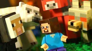 Лего Нубик и Борька КокаТубе Майнкрафт ИГРУШКИ Мультики Анимация Видео для Детей