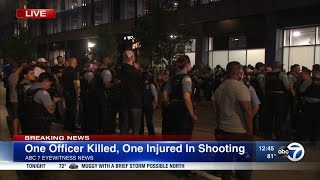 2 CPD officers shot, 1 killed in West Englewood shooting