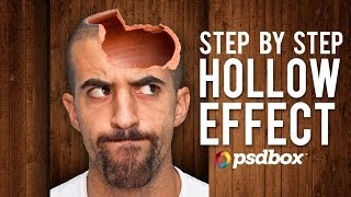 Hollow Head Effect in Photoshop (PSD Box)