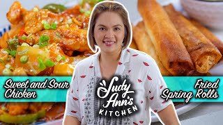 [Judy Ann's Kitchen 17] Ep 2: Sweet & Sour Chicken and Fried Spring Rolls