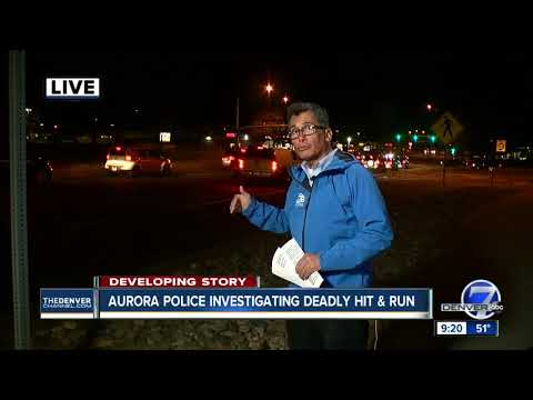 Aurora police: Pedestrian fatally struck by hit-and-run driver was involved in separate crash