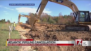 Atlantic Coast Pipeline project canceled, energy companies announce