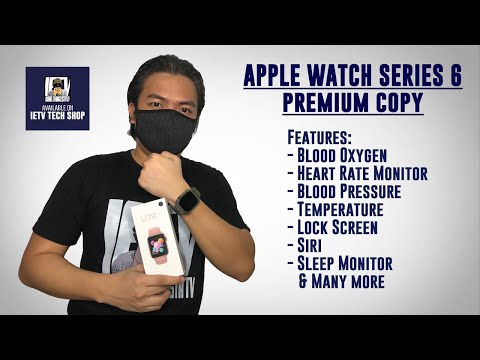 Apple Watch series 6 premium copy full review with blood oxygen feature and more...