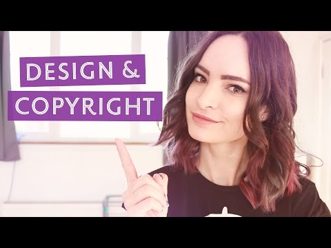 Design & Copyright - Making sure your work is legal | CharliMarieTV