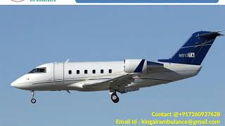 Hire King Air Ambulance Services from Ahmedabad and Amritsar