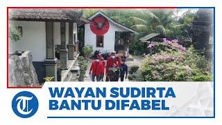 Relawan Anggota DPR RI Wayan Sudirta Bantu Penyandang Disabilitas di Bali