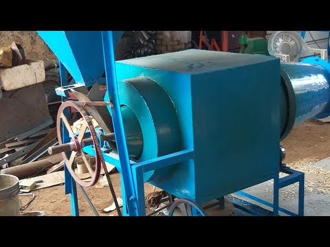 LPG Fired Puffed Rice Roaster Machine