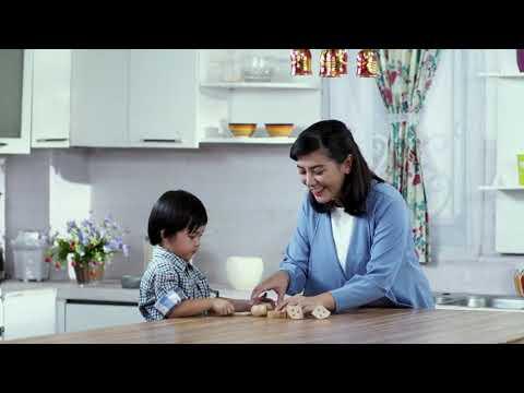 Bermain dengan Balok Kayu Potong