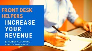 Front Desk Helpers - Video - 1